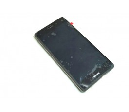 Pantalla completa lcd tactil con marco y bateria Huawei P8 Lite Ascend negra