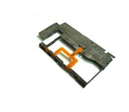 Flex botones volumen y encendido con marco intermedio Nokia Lumia 900 original