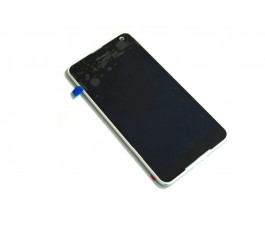 Pantalla completa lcd tactil y marco para Nokia Lumia 650 negra