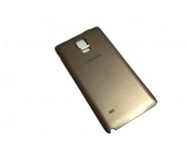 Tapa trasera para Samsung Galaxy Note 4 N910F dorada original