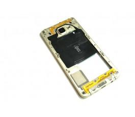 Carcasa intermedia para Samsung Galaxy A5 510FN 2016 dorada original