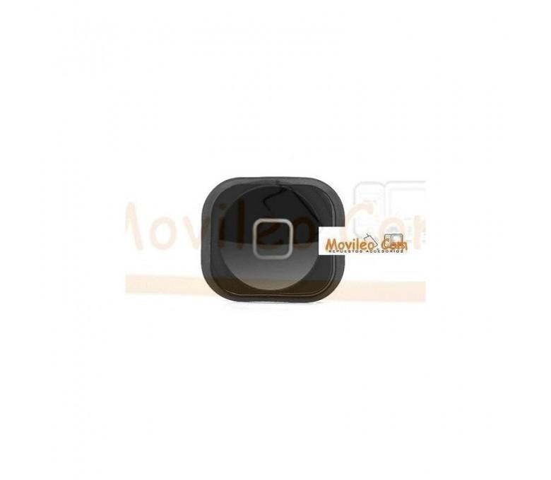 Botón de menú home negro con guardapolvo para iphone 5 - Imagen 1
