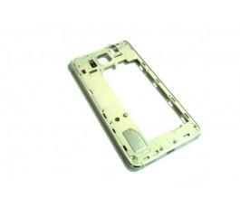 Carcasa intermedia para Samsung Galaxy S5 mini G800F plata original