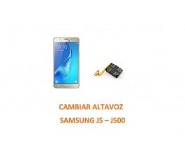 Cambiar Altavoz Samsung J5 J500