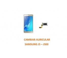 Cambiar Auricular Samsung Galaxy J5 J500