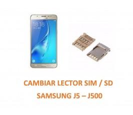 Cambiar Lector Sim / SD Samsung Galaxy J5 J500