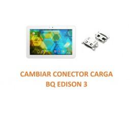 Cambiar Conector Carga BQ Edison 3