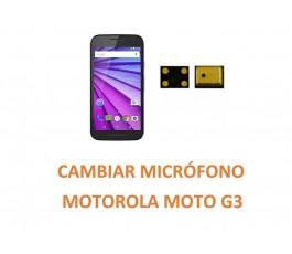 Cambiar Micrófono Motorola Moto G3