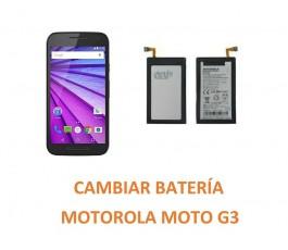 Cambiar Batería Motorola Moto G3