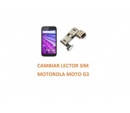 Cambia Lector Sim Motorola Moto G3