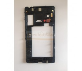 Marco Intermedio Negro Con Altavoz para Lg Optimus L5-II E460 - Imagen 2