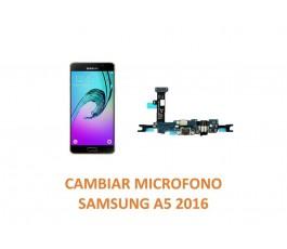 Cambiar Micrófono Samsung Galaxy A5 2016
