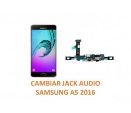 Cambiar Jack Audio Samsung Galaxy A5 2016