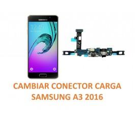 Cambiar Conector Carga Samsung A3 2016