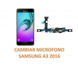 Cambiar Micrófono Samsung Galaxy A3 2016