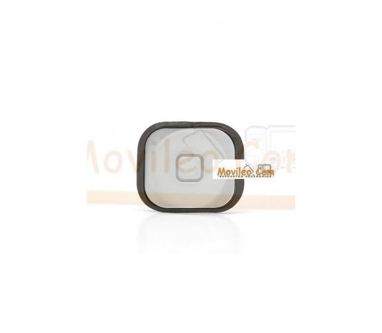 Botón de menú home blanco con guardapolvo para iphone 5 - Imagen 1