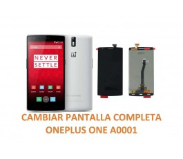 Cambiar Pantalla Completa Oneplus one A0001