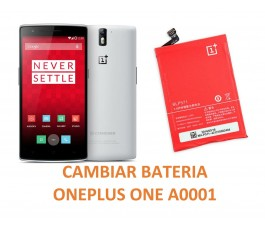 Cambiar Batería Oneplus One A0001