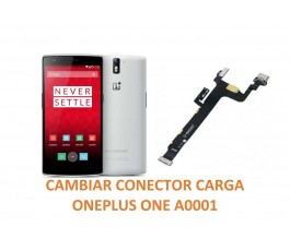 Cambiar Conector Carga Oneplus one A0001