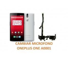 Cambiar Micrófono Oneplus One A0001