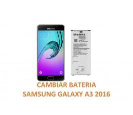 Cambiar Batería Samsung Galaxy A3 2016