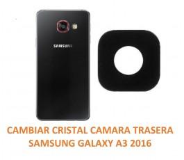 Cambiar Cristal Cámara Trasera Samsung A3 2016