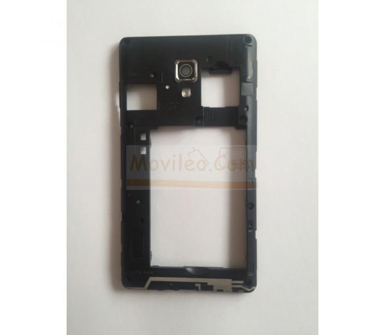 Marco Intermedio Negro para Lg Optimus L7-II P710 - Imagen 1