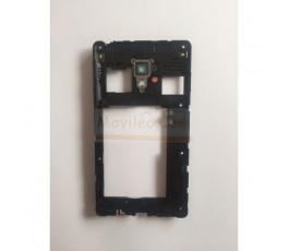 Marco Intermedio Negro para Lg Optimus L7-II P710 - Imagen 2