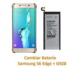 Cambiar Batería Samsung Galaxy S6 Edge  + G928
