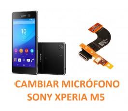 Cambiar Micrófono Sony Xperia M5 E5603, E5606