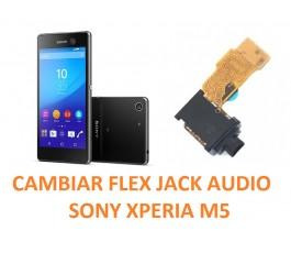 Cambiar Flex Jack Audio Sony Xperia M5 E5603, E5606