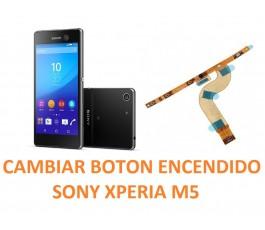 Cambiar Flex Botón Encendido Sony Xperia M5 E5603, E5606