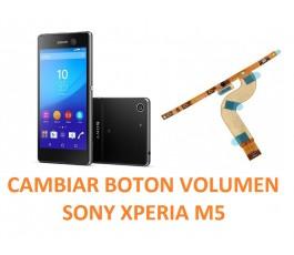 Cambiar Flex Botónes Volumen Sony Xperia M5 E5603, E5606