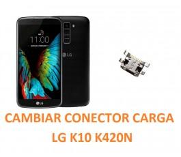 Cambiar Conector Carga LG K10 K420N