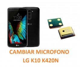 Cambiar Micrófono LG K10 K420N