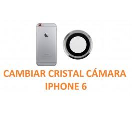 Cambiar cristal cámara trasera IPhone 6