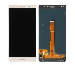 Pantalla completa táctil lcd display para Huawei Mate S Blanco