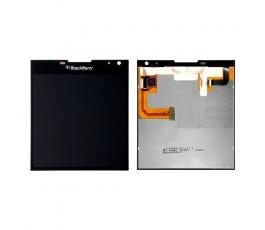 Pantalla completa lcd display táctil para Blackberry Q30 negra