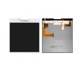 Pantalla completa lcd display táctil para Blackberry Q30 blanco