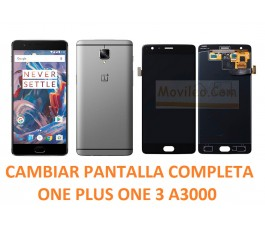 Cambiar pantalla completa Oneplus one A3000
