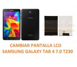 Cambiar Pantalla LCD Display Samsung Galaxy Tab 4 T230
