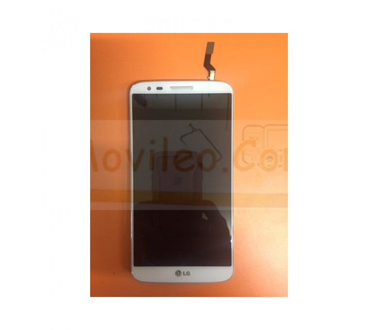 Pantalla Completa Blanca con Marco de Desmontaje para LG G2 D802 - Imagen 1