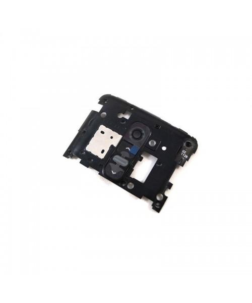 Tapa Intermedia Con Botones para Lg Optimus G2 D802 Negro - Imagen 1