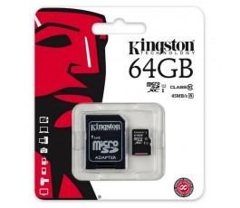TARJETA MEMORIA MICROSD 64GB KINGSTON