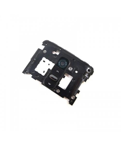 Tapa Intermedia Con Botones de Desmontaje para Lg Optimus G2 D802 Negro - Imagen 1