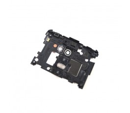 Tapa Intermedia Con Botones de Desmontaje para Lg Optimus G2 D802 Negro - Imagen 2