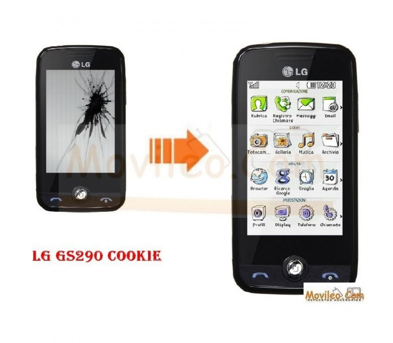 CAMBIAR PANTALLA LCD LG GS 290 COOKIE - Imagen 1