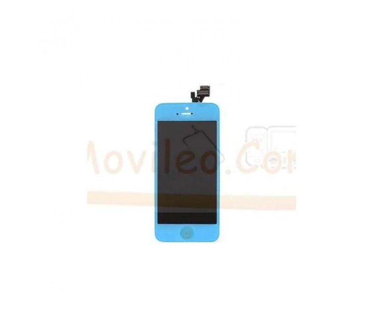 Pantalla Completa Azul Pitufo iPhone 5 - Imagen 1