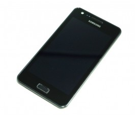 Pantalla completa con marco para Samsung Galaxy R i9103 Negro Original