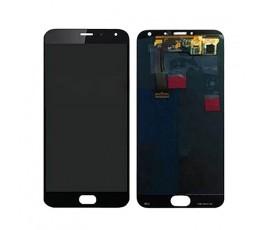 Pantalla completa táctil y lcd para Meizu MX5 negra